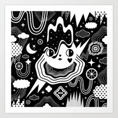 Buy Aurora Art Print by Muxxi. Worldwide shipping available at Society6.com. Just one of millions of high quality products available.
