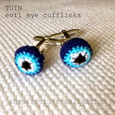 inspiration and realisation: DIY fashion blog: DIY amigurumi cufflinks
