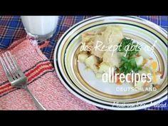 Lust auf Hühnerpastete (Chicken Pie)? Das Rezept zum Video gibts auf Allrecipes Deutschland: http://de.allrecipes.com/rezept/11662/h-hnerpastete.aspx