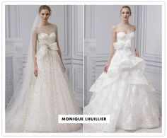 Monique Lhuillier (Fall 2013). You kill me. This woman knows how to make dresses that feel like a dream.