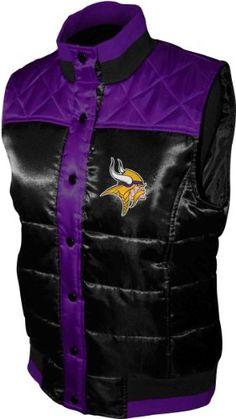 NFL Women s Minnesota Vikings Polar Puffer Vest http   amzn.com B0086EJ6W0 b844536aa