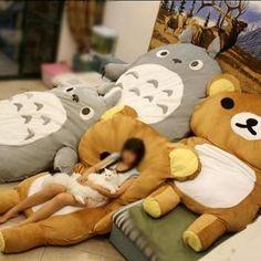 FREE SHIPPING - Big Huge Cute Models 220CM Totoro Bed Sleeping Bag Sofa Christmas Gift Kid