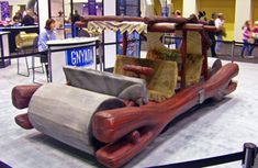 The Flintstones' car