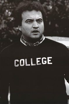 """Animal House Movie (John Belushi, College) Poster Print by Poster Revolution, I just bought this to use as a """"sign in book' at dads surprie party. ive got gold and silver markers to use Education College, Higher Education, College Life, Dorm Life, College House, College Years, College Counseling, Uni Life, Tom Delonge"""