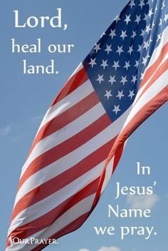 Lord Heal Our Land, In Jesus Name We Pray !