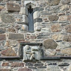 This Sheela-na-gig, carved on Scotland's Rodel Church, survived the purge.
