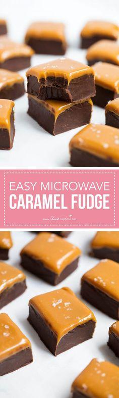 The BEST homemade microwave fudge recipe - I Heart Naptime