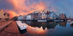 20 Beautiful Panoramic Sunrise and Sunset Photography