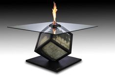 table money Provoking Money Burning Table: Too much? by Alejandro Monge