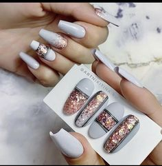 Glam Nails, Matte Nails, Pink Nails, Beauty Nails, Stylish Nails, Trendy Nails, Manicure, Nagellack Trends, Rhinestone Nails