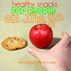 Quick, Healthy Snack Ideas - some of these are good ideas.