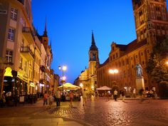 Toruń, Poland medieval city  Situated in Northern Poland, this is one of the countries' most charming towns (indeed, there are many of them). If you're looking to get off the beaten path in Poland and away from popular Warsaw and Krakow, this would be a good place to start.