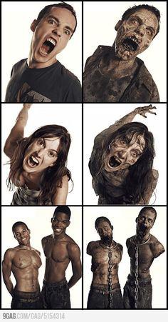 the walking dead zombies - Buscar con Google