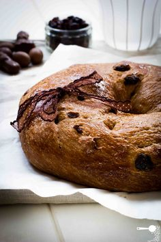 Chocolate and Sour Cherry Bread - http://wholesome-cook.com/2012/04/04/chocolate-and-sour-cherry-bread/