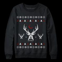 Satanic christmas sweater