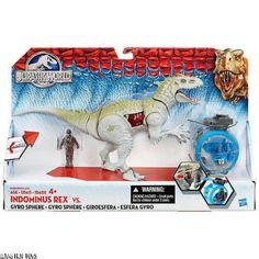 Jurassic World * Indominus Rex vs. Gyro Sphere Play Set Dinosaur toys NEW + #Hasbro