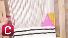 Weaving for Beginners Part 4: Add Stripes and Geometric Shapes with Anna...
