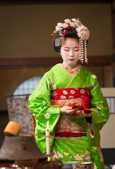 Lovely Geisha  — geisha-kai:  Miyako Odori 2015: the tea ceremony...