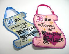 Embroidery Library - Machine Embroidery Designs Inspired Project Page. Guest labels