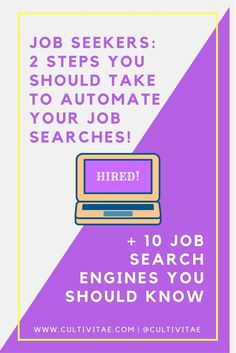 Every JobSeeker should follow these  two easy actions before starting a job search. Also, 10 job search engines explained. Bonus: Free LinkedIn Profile Checklist