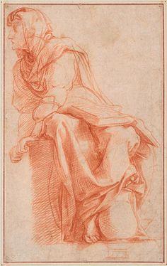 Raphael (Raffaello Sanzio), 1483-1520, Italian, De sibille van Cumae, c.1511.  High Renaissance.