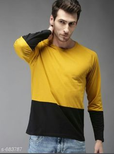 👉Stylish Cotton Men's T-Shirt 👉Price: 👉Fabric: Cotton 👉Sleeves: Full Sleeves Are… – duck-legged-set Fashion News, Mens Fashion, Slim Fit Polo, Elegant Man, Shirt Price, Like4like, Men Casual, Menswear, Stylish