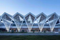Qingdao Cruise Terminal,Courtesy of CCDI