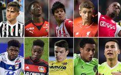 Estos son diez de los jóvenes jugadores que aparecen en la agenda del Barça