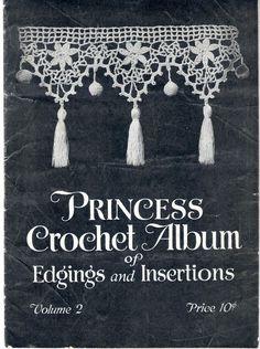 The   Vintage   Pattern   Files: 1910's Crochet - Princess Crochet Album of Edgings...