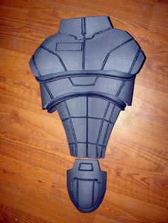 Mass Effect N7 Armor Build! Made with foam!