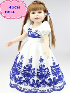 54.00$  Watch here - http://alir4k.worldwells.pw/go.php?t=32668593057 - 18inch Princess American Girl Doll Brinquedos For Child's Best Gifts Hot Sale Npk Reborn Dolls With Alexander Baby Dolls Clothes 54.00$