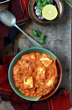 paneer lababdar recipe with step by step photos. Learn how to make rich, creamy restaurant style punjabi paneer lababdar with this easy recipe Easy Paneer Recipes, Indian Paneer Recipes, Veg Recipes, Curry Recipes, Side Dish Recipes, Indian Food Recipes, Vegetarian Recipes, Cooking Recipes, Recipies