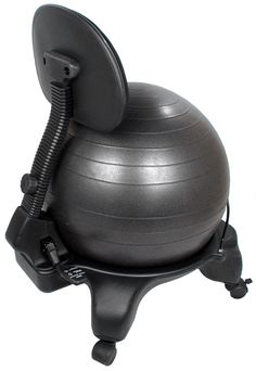 Check out the deal on Isokinetics Inc.™ Adjustable Back Exercise Ball Office Chair - Black Ball - With Pump at Physical Therapy Equipment and Supplies - Isokinetics Inc.