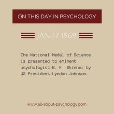 17th January 1969.  #BFSkinner #Psychology