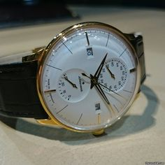 Junghans Meister Agenda ad: £1,414 Junghans Meister Agenda Ref. No. 027/7366.00; Steel; Automatic; Condition 0 (unworn); Year 2017; New; With box; With pa