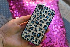 leopard iphone 4 case.♡