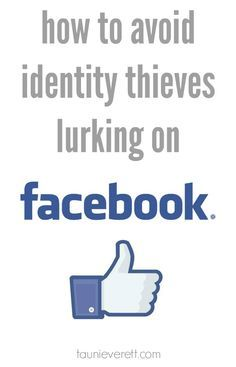 I had no idea how easily hackers could utilize Facebook to steal an identity. This is a great article on how to avoid identity theft on Facebook.