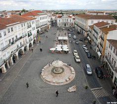 Praça do Giraldo. #Évora #Portugal