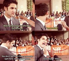 The affect Darren has on his fans...