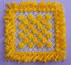 square loom cloth