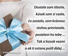 Šťastie ako dar