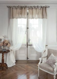 Image: I love these curtains. They allow light to come through while offering privacy..