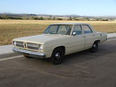 1967 Plymouth Valiant - my first car