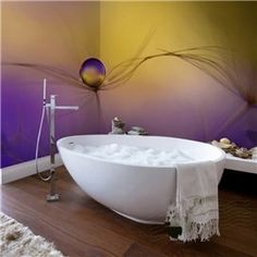 Simple White And Black Trees Pattern Waterproof Bathroom Wall Murals Bat Remodel Pinterest Mural Wallpaper