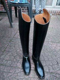 Tall Leather Boots, Leather Riding Boots, Tall Boots, High Heel Boots, High Heels, Equestrian Boots, Mens Boots Fashion, Riding Gear, Classic Leather