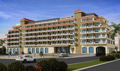 Hotel Front Facade