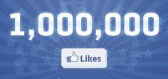 1 000 000 likes on facebook status - Hledat Googlem
