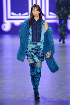 Anna Sui at New York Fashion Week Fall 2016 - Runway Photos