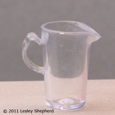 use a recycled plastic pencil cap to make a dollhouse miniature pitcher....great ideas..........easy to follow