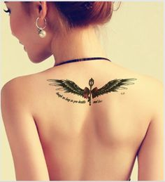 women-men-black-henna-tattoo-stickers-ink-flash-arm-back-fake-tattoo-big-temporary-tattoo-wings.jpg (746×819)